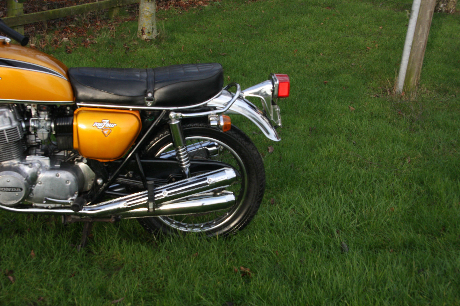 Hondas For Sale By Owner >> Honda CB750 CB 750 K2 1972 Candy Gold All Original 2 ...