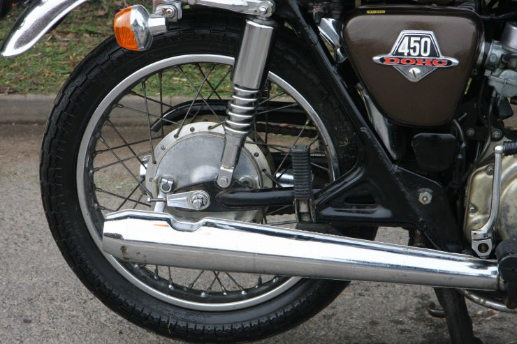 Honda CB450 CB 450 BARN FIND Restoration Project FOR SALE 2