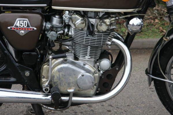 Honda CB450 CB 450 BARN FIND Restoration Project FOR SALE 3