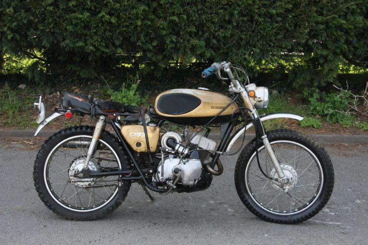 1 Bridgestone TMX 100 TMX100 1970 All original BARN FIND For Sale